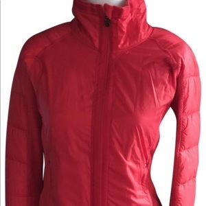 Lululemon Red Activewear Jacket